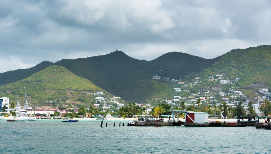 Sint Maarten PJ7/HB9EYA Mountains