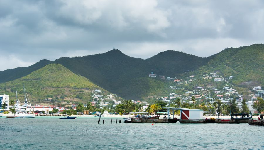 Sint Maarten PJ7/HB9EYA Mountains