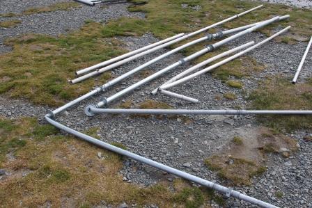 South Georgia Islands VP8SGI Broken antennas