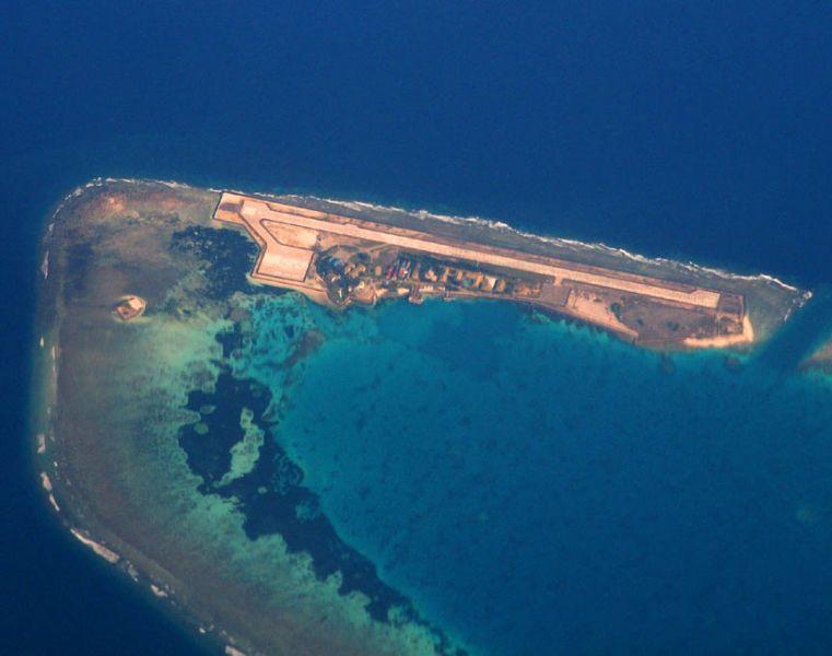 Остров Лаянг Лаянг Острова Спратли Своллоу Риф 9M0S Туристические достопримечательности