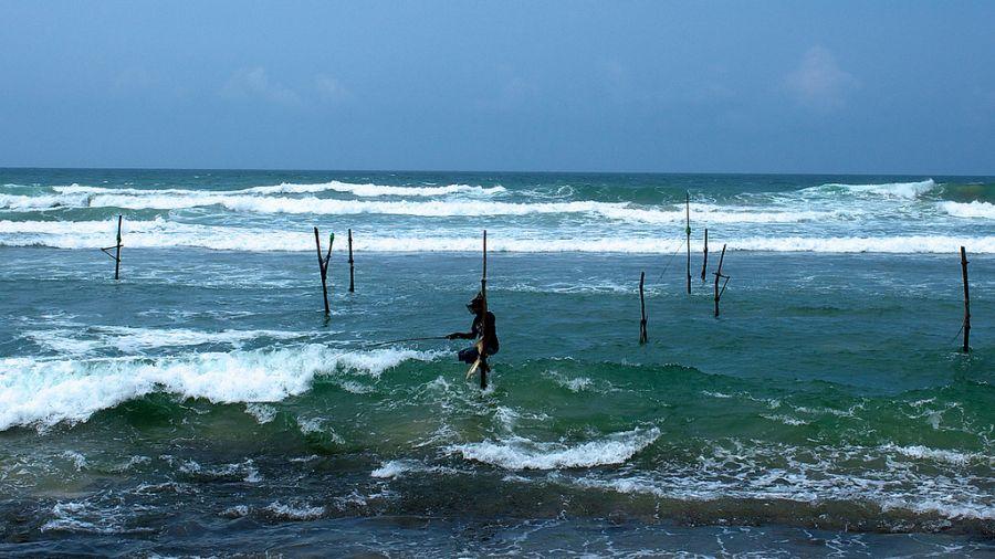 Шри Ланка 4S7GWG DX Новости Необычная рыбалка