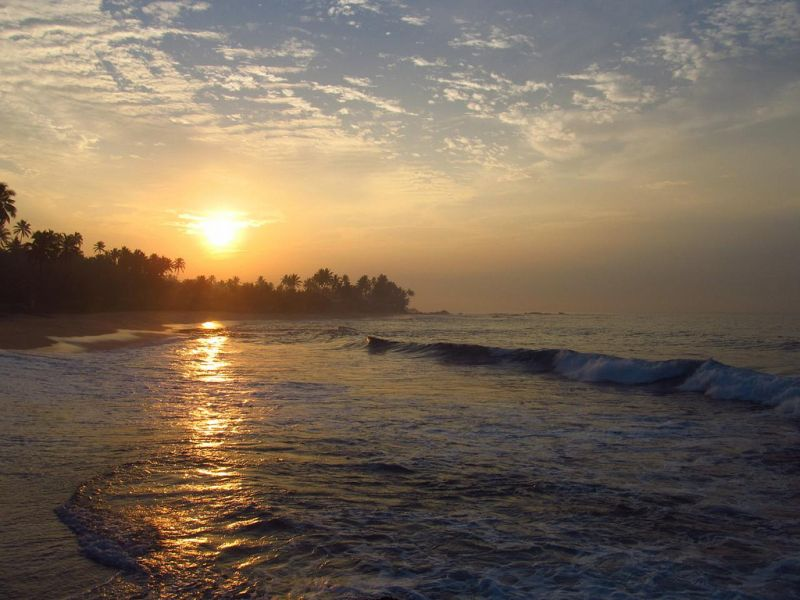 Sri Lanka 4S7RTG Tourist attractions spot Unawatuna.