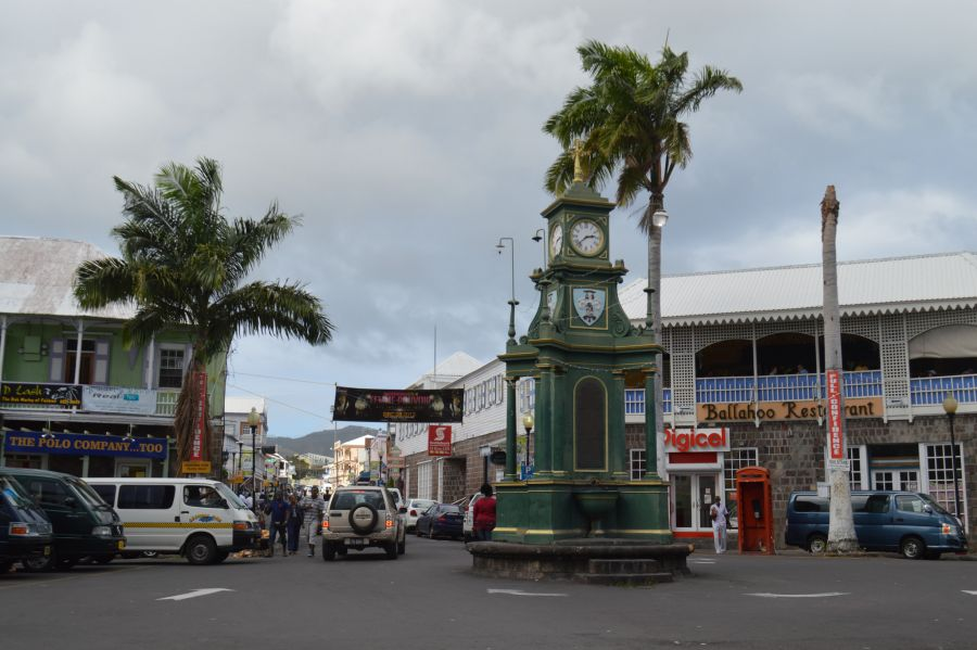 Saint Kitts Island V47TO Tourist attractions spot Berkeley Memorial