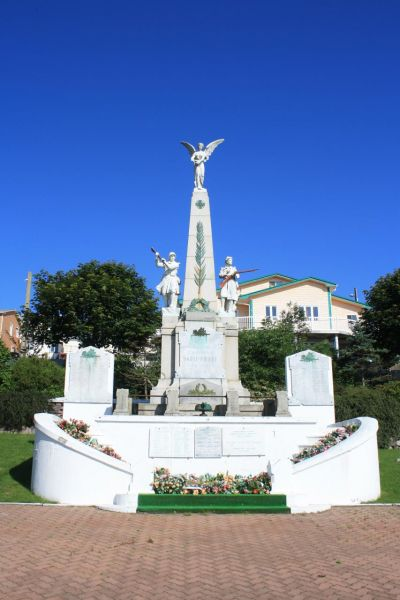 Saint Pierre and Miquelon Islands TO5FP Tourist attractions spot WWI monument.