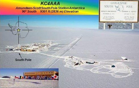 Станция Амундсен Скотт Южный Полюс Антарктида KC4AAA DX Новости