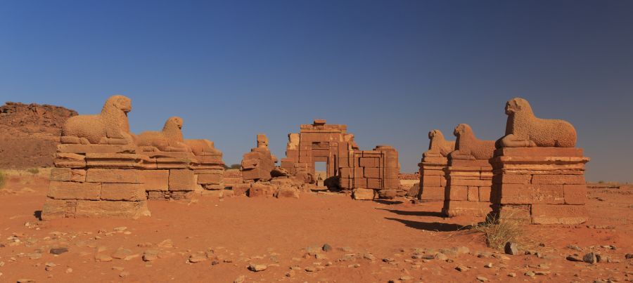 Sudan ST0A DX News Naga Temple.