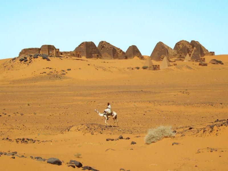 Sudan ST0A Tomb Pyramids, Bengrawiya.