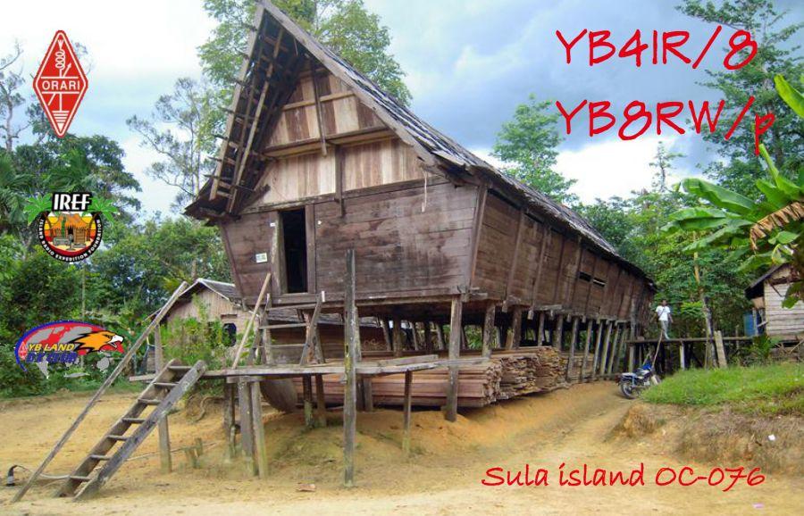 Sula Island YB4IR/8 YB8RW/P