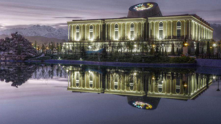 Tajikistan EY8MM 60m Tajikistan National Museum.