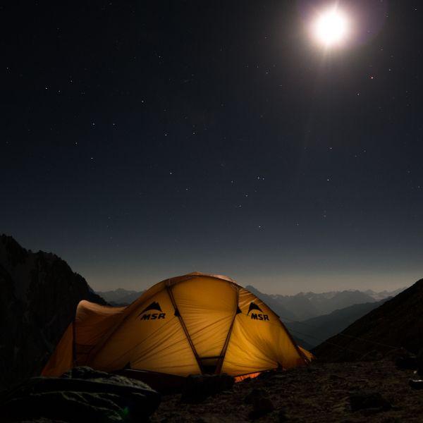 Таджикистан EY8MM 60м Туристические достопримечательности. Звездное небо.