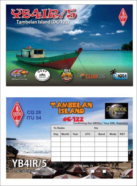 Tambelan Island Tambelan Archipelago YB4IR/5