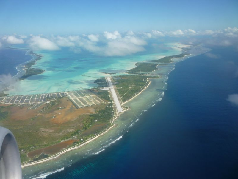 Tarawa Island Gilbert Islands Tourist attractions T30AR