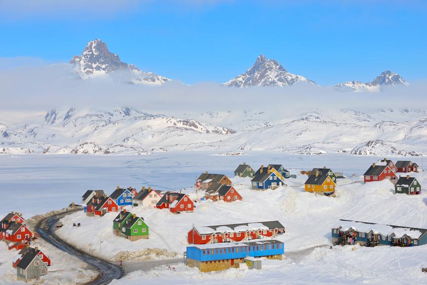 Tasiilaq Ammassalik Island Greenland OX/DL7DF OX/DJ6TF OX/DK1BT OX/DL7UFR