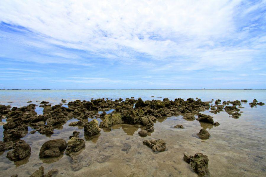 Остров Тидунг YF1AR/0 Туристические достопримечательности