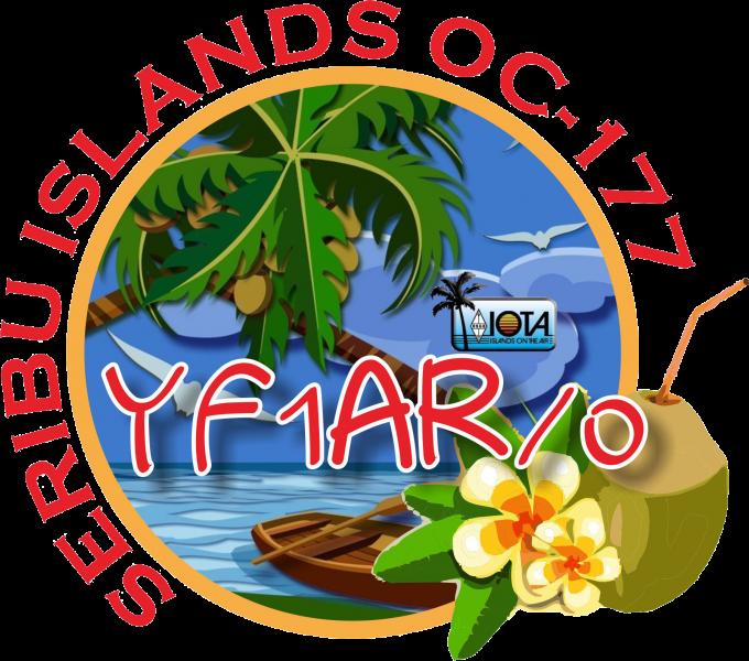Остров Тидунг YF1AR/0