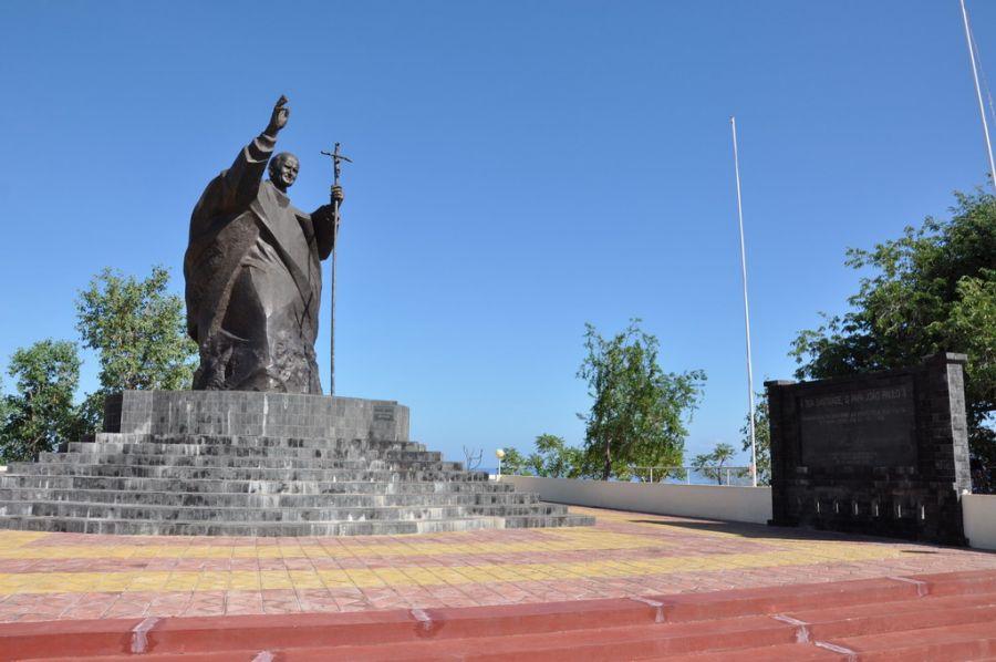 Timor Leste 4W/7K4QOK 4W/JQ2GYU 4W/JJ2VLY Tourist attractions spot Dili.