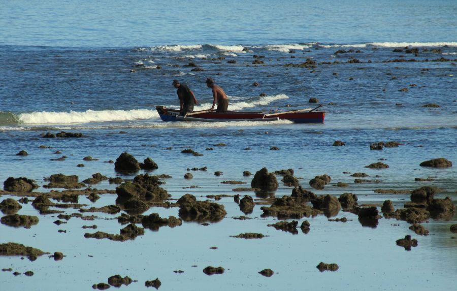 Тимор Лесте 4W/JE1CKA Туристические достопримечательности Мы все вышли из моря.