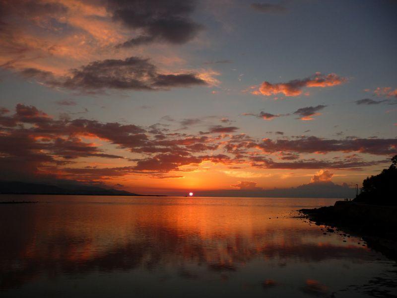 Timor Leste 4W/JE1CKA Sunset