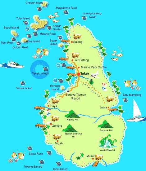 Остров Тиоман 9M2SE