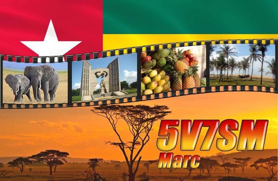 Togo 5V7SM QSL