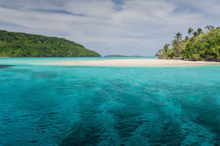 Tonga A35OK A35OL White sand beaches.