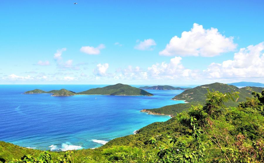 Tortola Island British Virgin Islands VP2VI VP2V/K2SX VP2V/W2LK VP2V/W1UU VP2V/WA6O