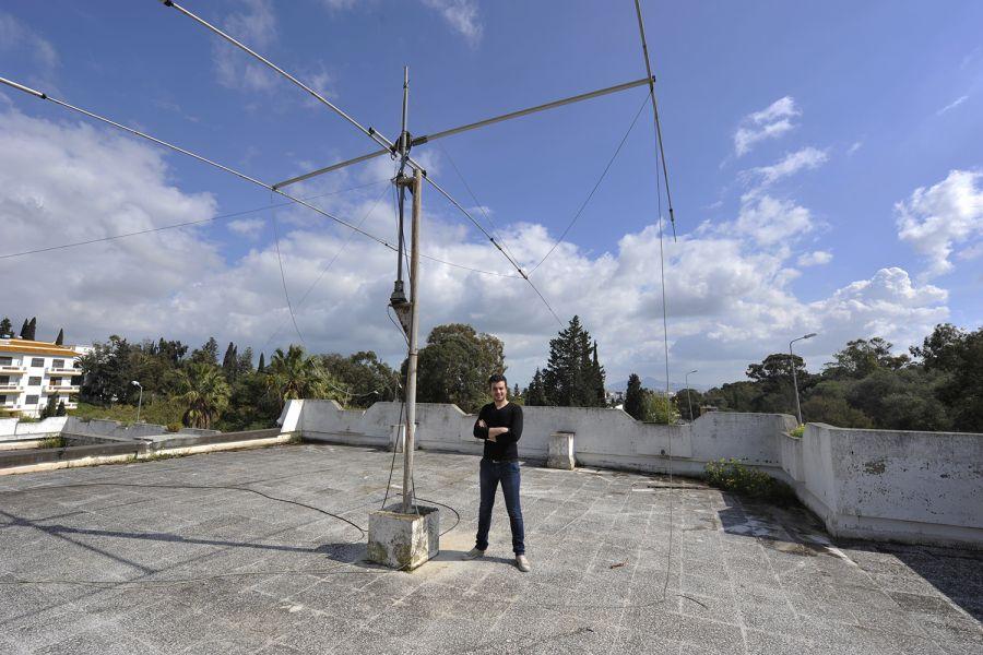 Tunisia 3V8ST Tunisian Scouts Headquarter Antennas Ali F4HJD
