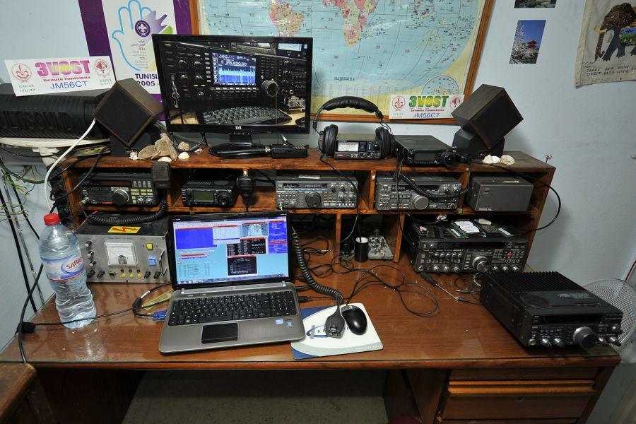 Тунис 3V8ST Радиостанция Тунисских скаутов