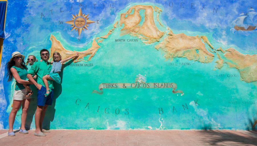 Острова Теркс и Кайкос  VP5SCA VP5/KO8SCA Туристические достопримечательности