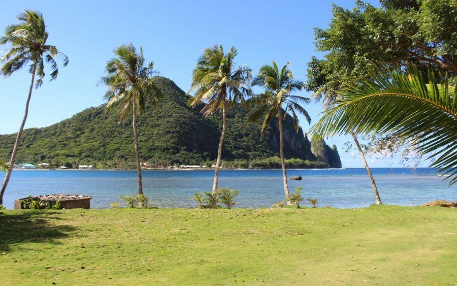 Остров Тутуила KH8/K8GU Американское Самоа