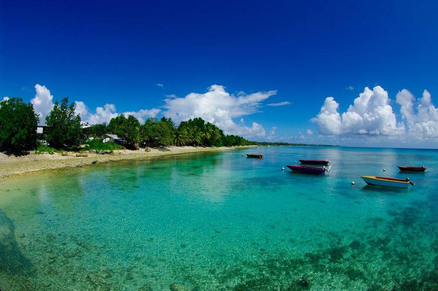 Tuvalu T2R Funafuti Atoll.