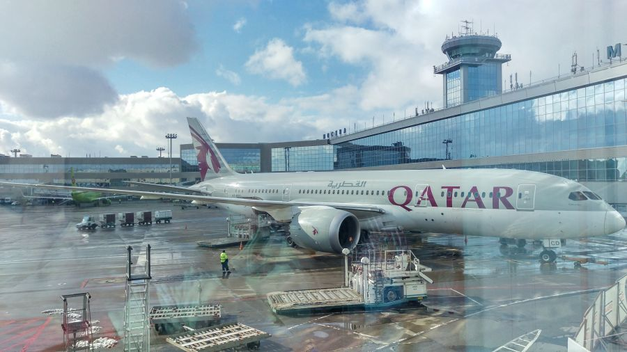B787 Катарских Авиалиний