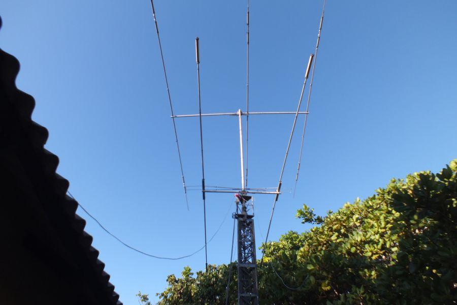 DX Сафари Мозамбик Наши антенны на ВЧ диапазоны