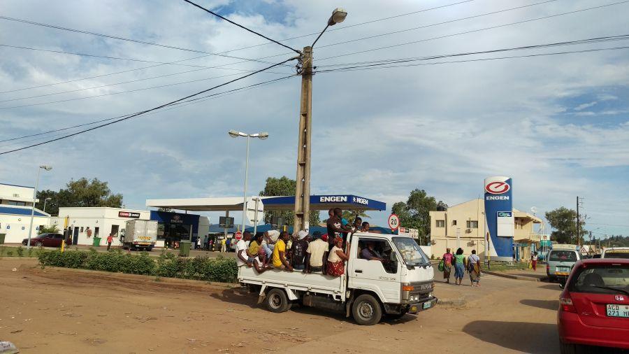 Мозамбик На улицах Хаи Хаи.