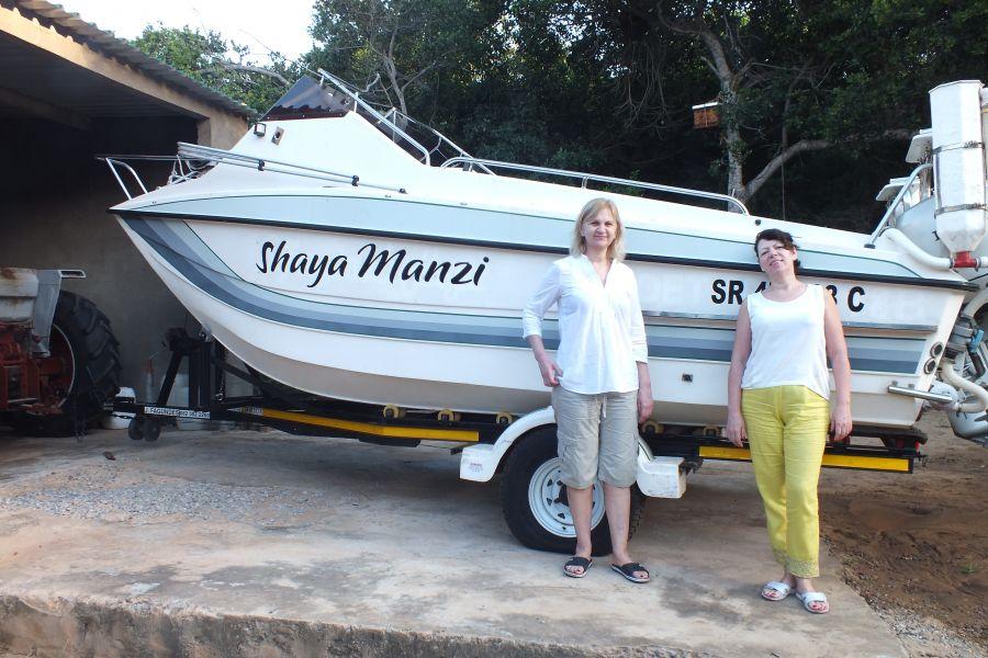 Мозамбик Перед началом несостоявщейся рыбалки