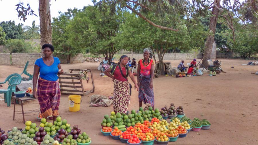 Мапуту Мозамбик Африканский базар