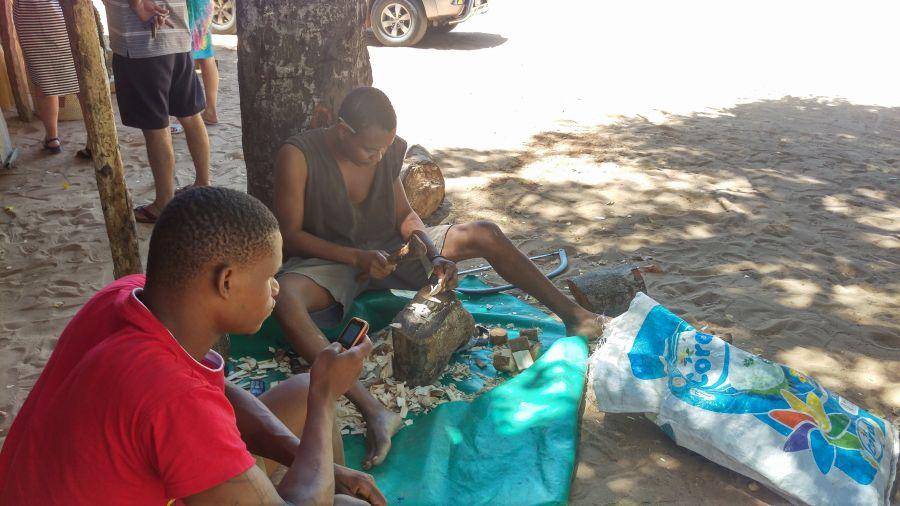Мозамбик Вот такая мастерская