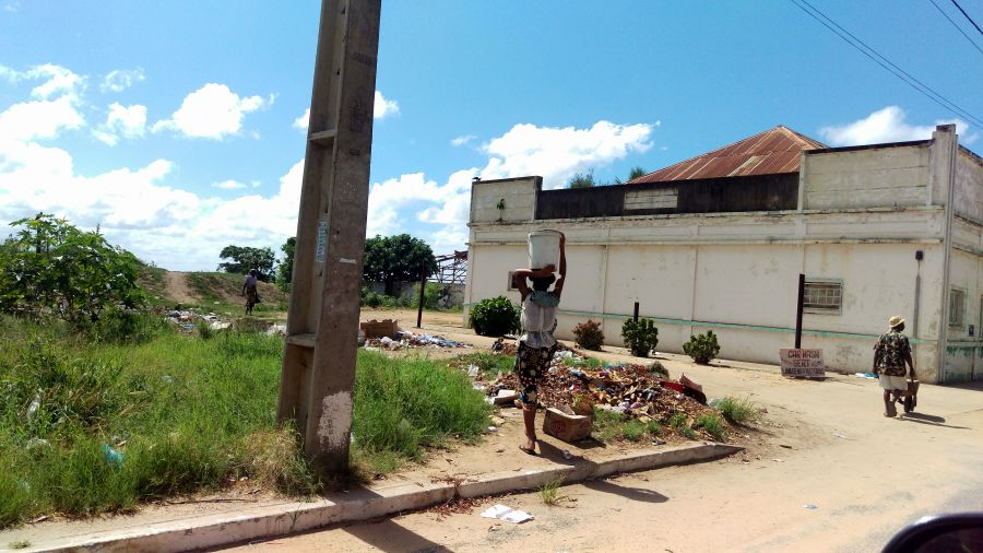 Мозамбик На улице Хаи Хаи