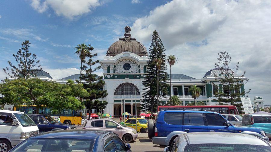 Железнодорожный вокзал в Мапуту. Архитектор Эйфель.
