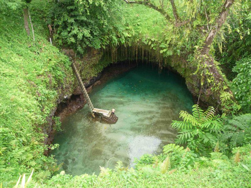Остров Уполу Самоа 5W0IF Туристические достопримечательности
