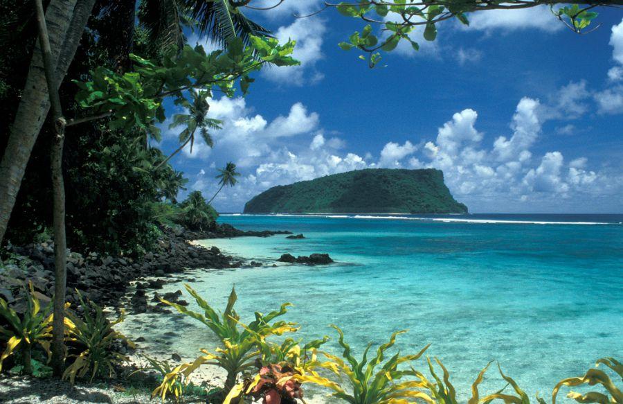 Остров Уполу Самоа 5W0IF