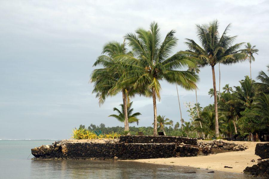 Остров Уполу Самоа 5W0RM