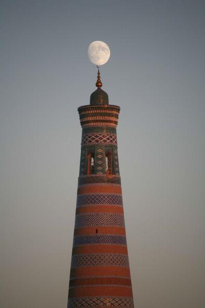 Uzbekistan UK/JE1RZR Tourist attractions spot Khiva.