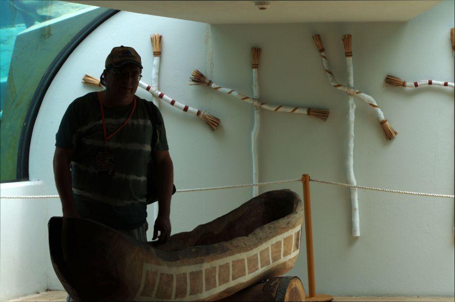 VK5MAV/8 Дарвин Выставка предметов быта и культуры аборигенов