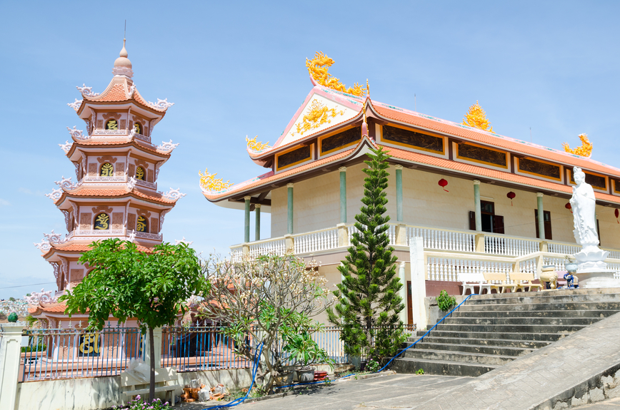 Вьетнам XV4F Туристические достопримечательности