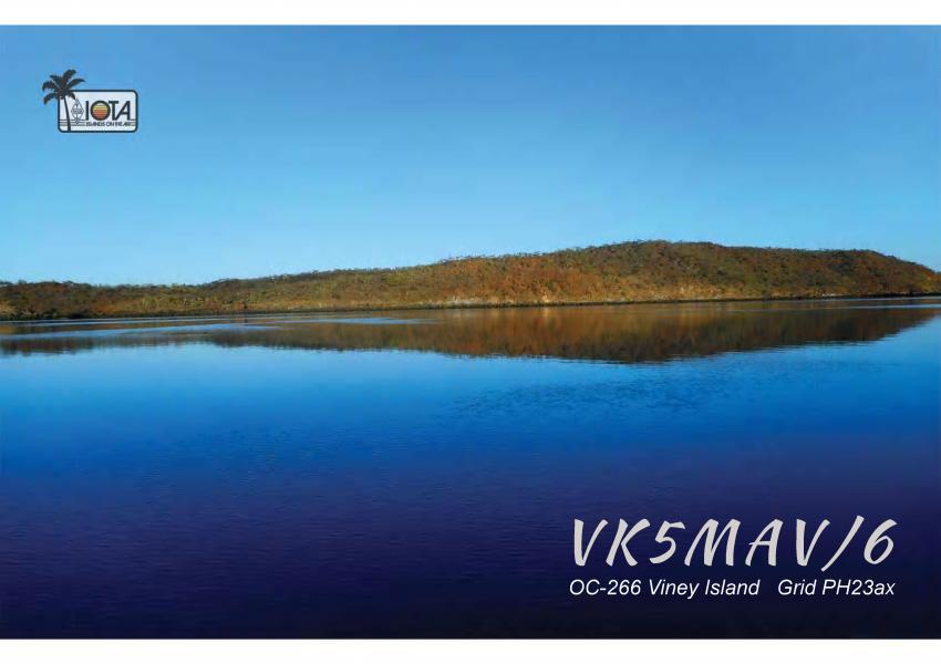 Остров Вини VK5MAV/6 QSL