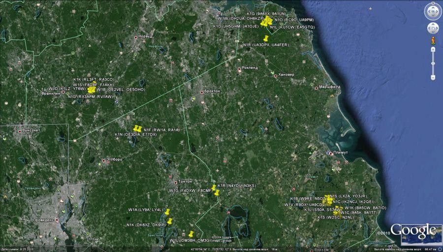 WRTC 2014 Позиции Южная часть