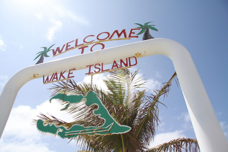Wake Island WW6RG/KH9 Tourist attractions spot Wellcome