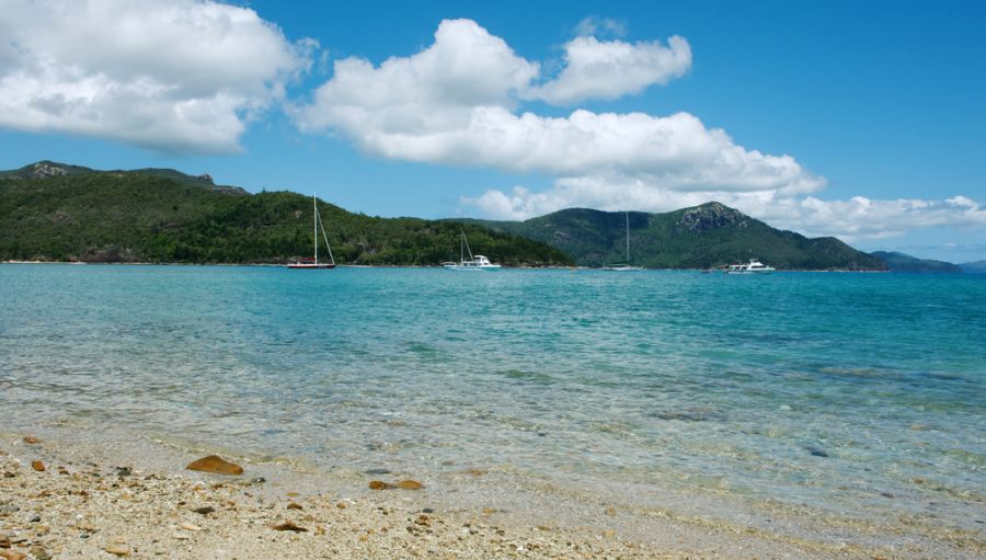 Whitsunday Island Whitsunday Islands VK4EI/P Tourist attractions spot Whitehaven Beach.
