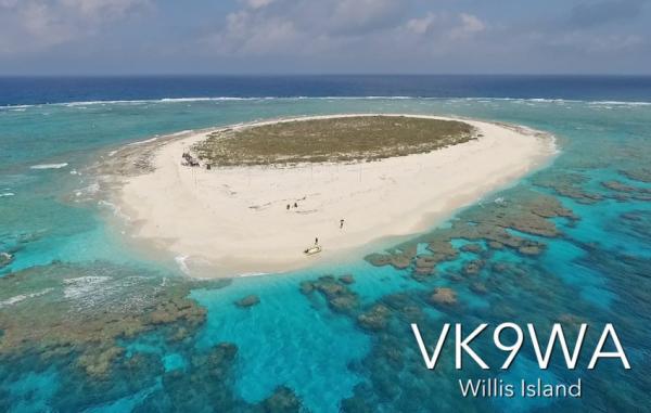 Willis Island VK9WA QSL